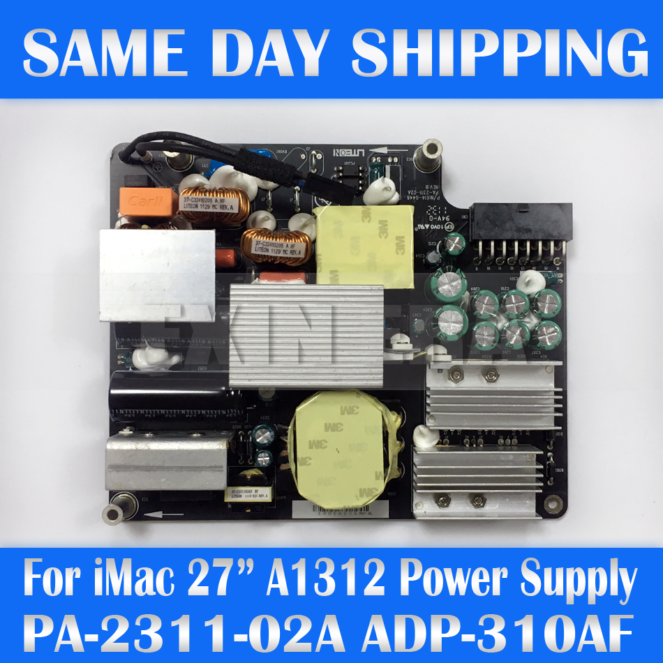 ORIGINAL Power Supply 310W For iMac 27 A1312 MC510 MB952 661-5468 614-0446 661-5310 614-0476 661-5972 ADP-310AF B PA-2311-02A