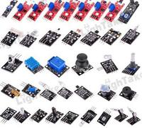 Free Shipping Helpful 37 In 1 Starters Compatible Sensor Module Kit Basic Components