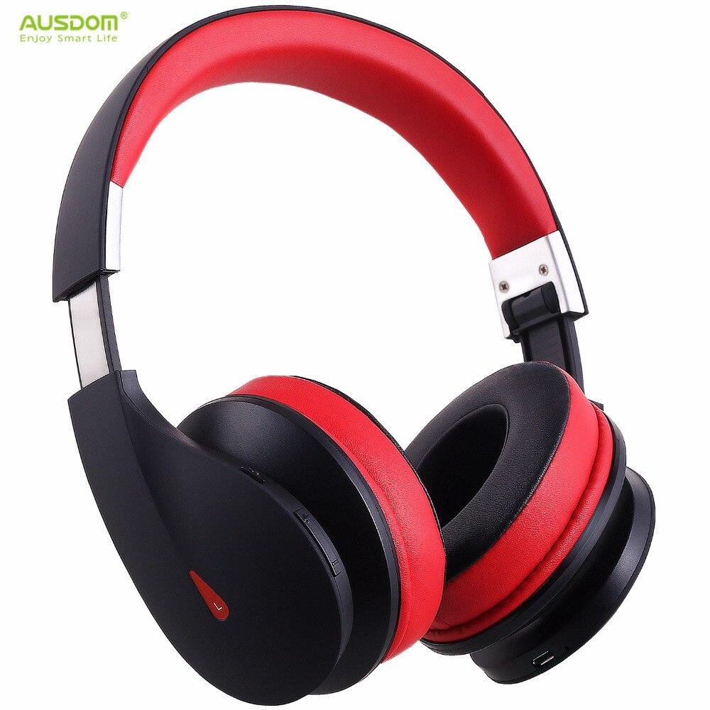 bilder für Ausdom AH2 Drahtlose Kopfhörer Bluetooth Kopfhörer Über Ohr Faltbare Stereo Bass Musik Headset mit Mikrofon für iPhone Xiaomi