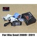 Para Kia Soul 2009 ~ 2011/Láser de Alarma de Advertencia de La Lámpara de Niebla luces/12 V LED Trasera Anti-Colisión Trasera Auto Accesorios Haze luz