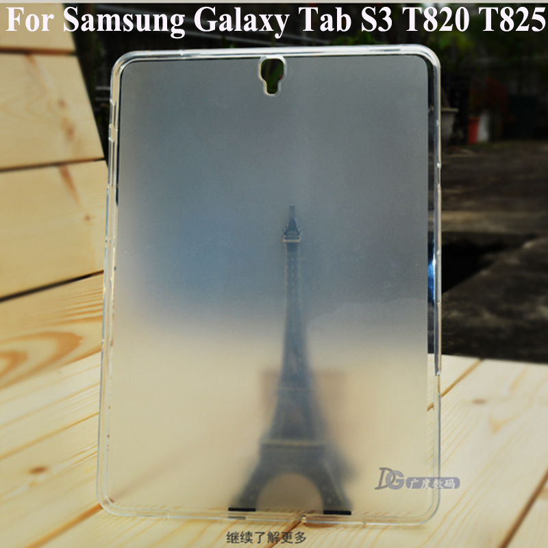 For Samsung Galaxy Tab S3 9 7 T820 T825 Soft Silicone tablet Case TPU Clear Cover