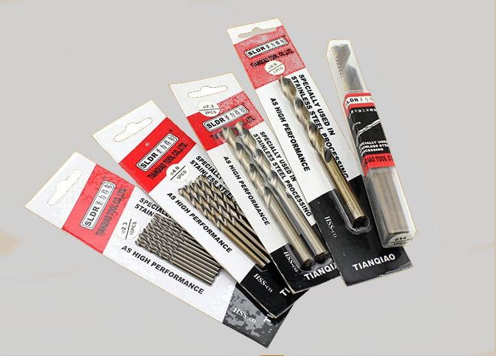 2PCS 5.1mm-7.5mm HSS-CO M42 Drill Bits Cobalt High Speed Steel Twist Drill Stainless Steel (5.2/5.5/5.8/6.0/6.5/6.8/7.0mm/7.2mm)
