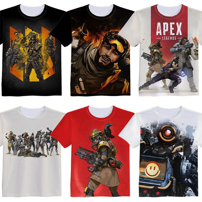Hot New Game Apex legends Woman Man Lovely Printing Custom Made T-shirt Tees Christmas Gift Fancy Fashion Cool