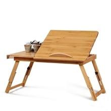 Tisch Standing Dobravel Tavolo Scrivania Ufficio Notebook Escritorio Mueble Bamboo Stand Laptop Mesa Desk Computer Study Table все цены