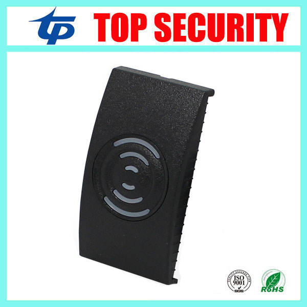 125khz RFID card reader with weigand26 waterproof door control card reader IP65 good quality smart card proximity card reader outdoor mf 13 56mhz weigand 26 door access control rfid card reader with two led lights