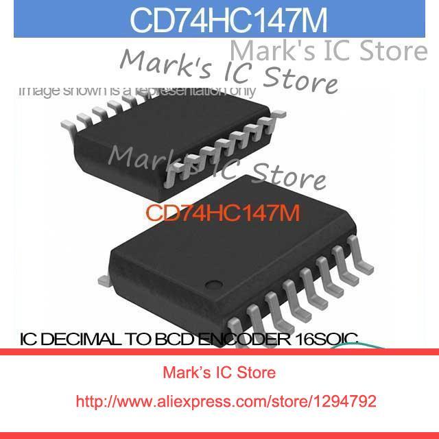 Cd74hc147m Ic Decimal To Bcd Encoder 16soic Cd74hc14 74hc1 Cd74hc