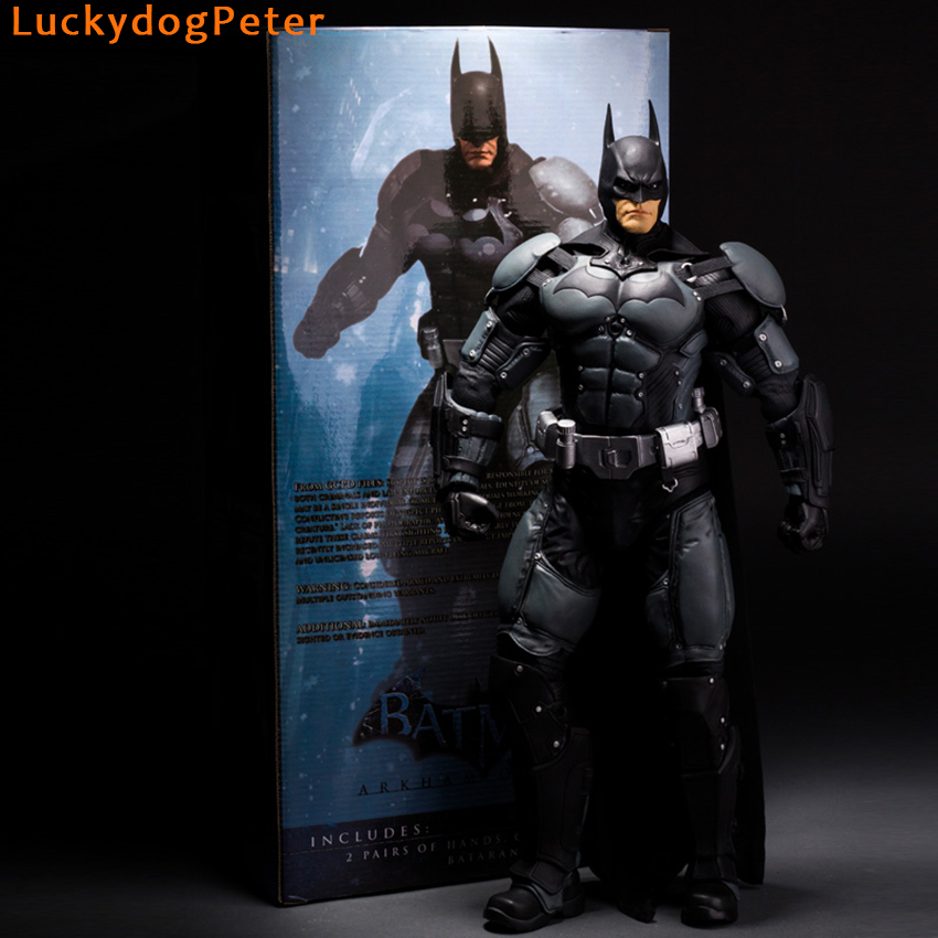 Batman arkham asylum action figure 14 scale painted figure batman batman arkham asylum action figure 14 scale painted figure batman arkham origins doll pvc acgn figure toy brinquedos anime in action toy figures from voltagebd Choice Image