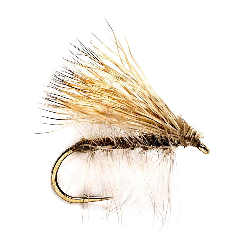 6pcs Aventik Elk Hair Caddis Brown Dry Trout Nymph Fly Fishing Flies Various Size New