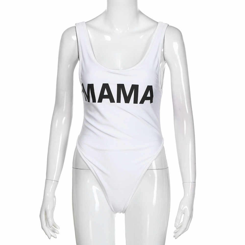 Bikini 2019 Mommy dan Saya Keluarga Pakaian Anak Bayi Perempuan Huruf Swimsuit One Piece Swimsuit Baju Renang Wanita Baju Renang Anak Perempuan 35