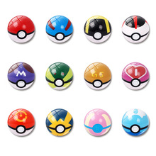 1pc Cute Pokemon Elf Ball refrigerator stickers decorative glass stickers message board message board home accessories цены онлайн