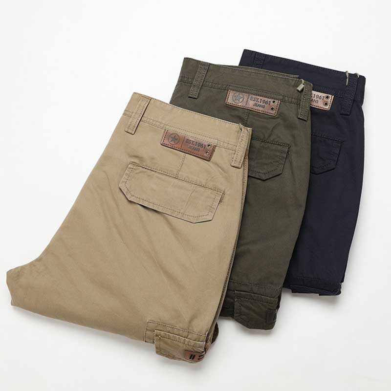 الصيف السراويل البضائع متعددة جيب الرجال عارضة قصيرة القطن مستقيم فضفاض فضفاض Boardshorts الذكور الملابس الحريم قصيرة كبيرة الحجم