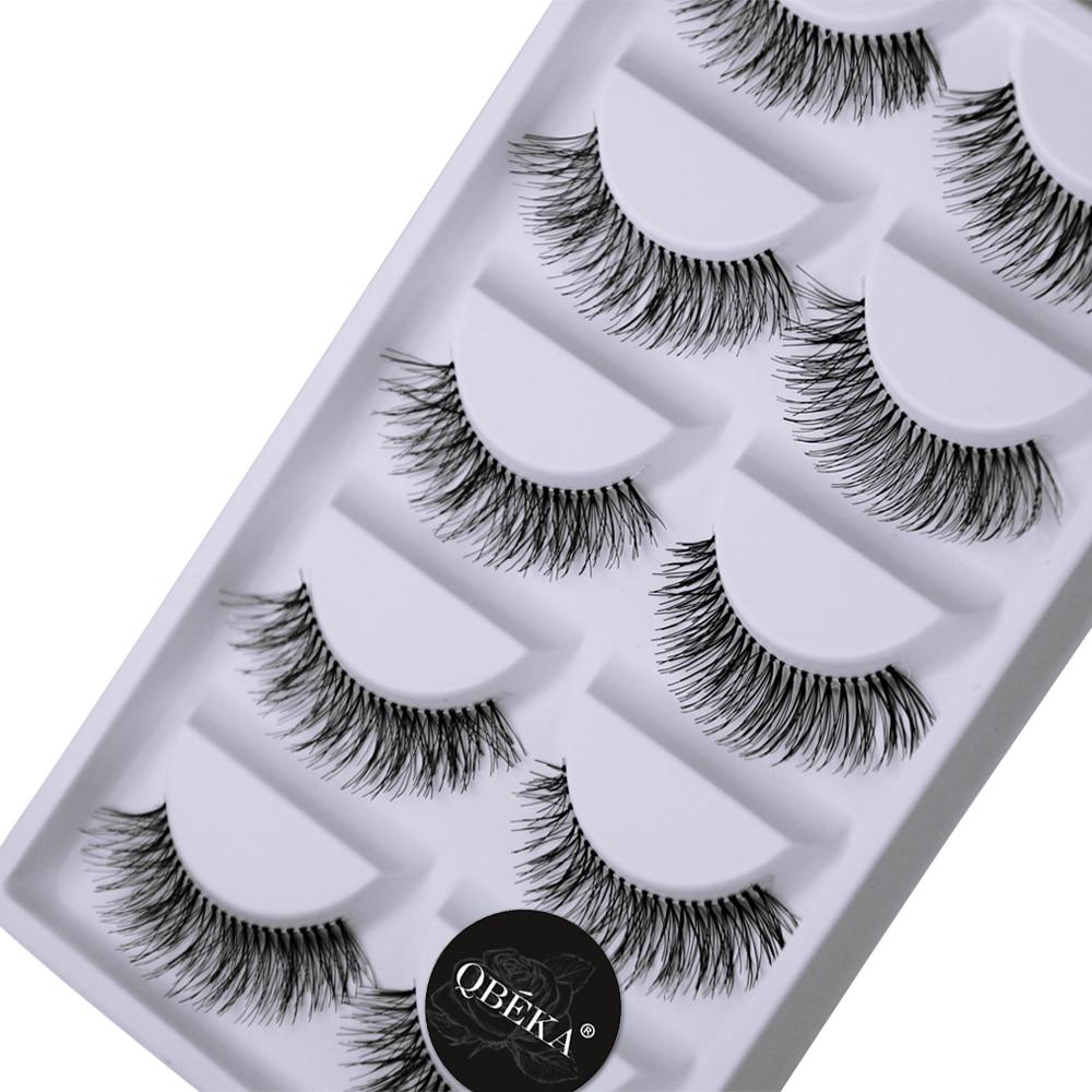 30Pairs Natural Long False Eyelashes Posterior Hand Made Fake Eyelash Cilia Eye Lash Extensions Lengthening & Charming Lashes