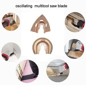 Image 5 - Newone lames de scie à oscillations en métal, en bois, 66 lames de scie à dégagement rapide, à oscillations en métal, adapté aux artisans Bosch, Fein Black et Decker