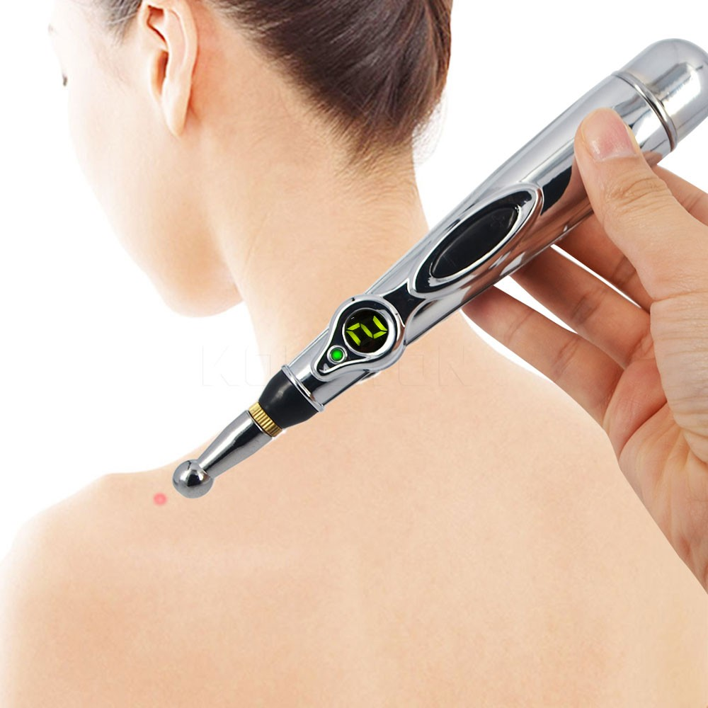 Image 5 - New Stimulator LCD Electro Acupuncture Device T.E.N.S. and Point Detector Electronic Automatically Acupuncture Needle Pen-in Massage & Relaxation from Beauty & Health