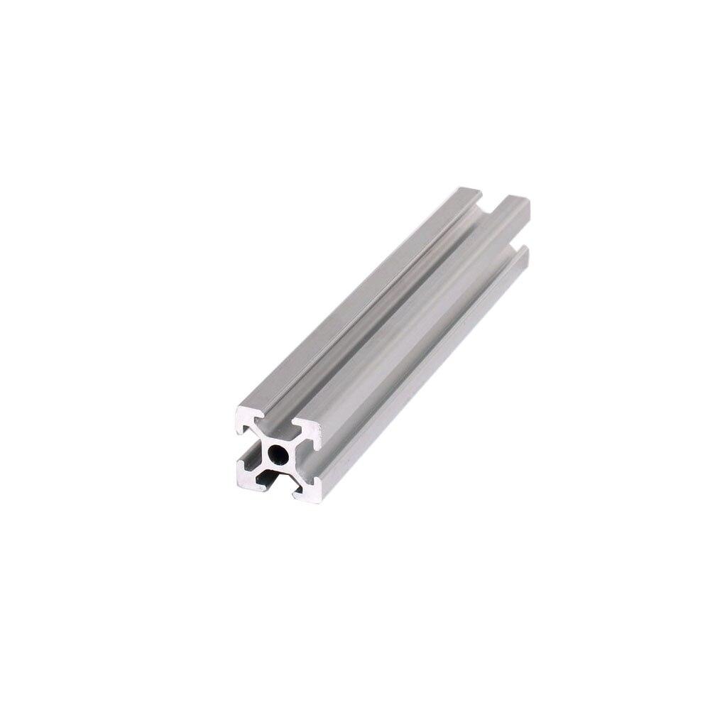 4 шт./лот 2020 t-образное отверстие 5 мм 20X20 алюминиевый профиль экструзии 100 до 800 мм Длина линейной рельсы для DIY 3D принтера верстак CNC