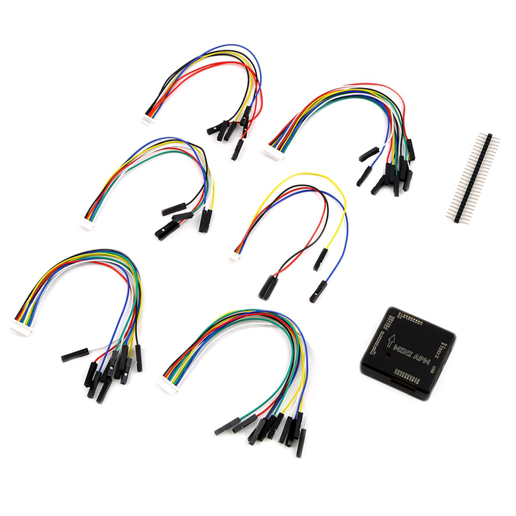 Mini APM V3.1 Flight Controller Board Upgraded APM 2.6 2.8 Plate with Cables Pin for 6M M8N GPS DIY RC Drone 250 Multicopter new mini apm pro flight controller with neo m8n gps