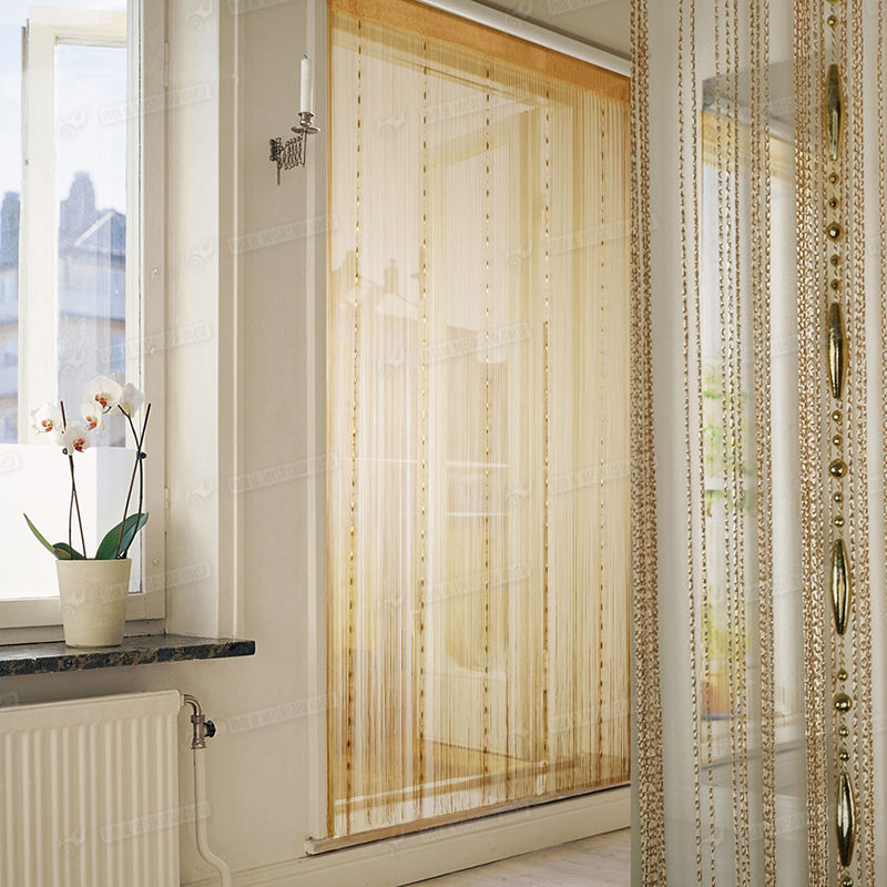 100*200cm Chain Tassel Window Curtain Beaded Cloth Screen String Room Decor  Hanging Door Window Room Divider Curtain Valance In Curtains From Home U0026  Garden ...