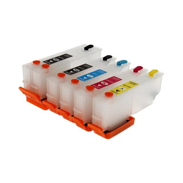 Recarga do cartucho de tinta Para Impressora Epson T3351 T3361-T3364 T33 T33xl Com ARC Chip Para Epson xp530 xp900 xp830 xp645 xp635 xp630 xp540