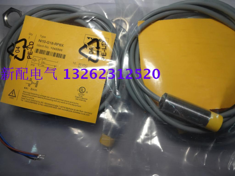 NI10-G18-RP6X Turck  New High-Quality Proximity Switch Sensor NI10-G18-RP6X Turck  New High-Quality Proximity Switch Sensor
