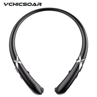 Vchicsoar HW911 Sports Running Bluetooth Headphone V4 1 Wireless Headset Stereo Bass Full Silicone Neckband Headphones