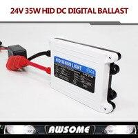 1 pc 24 V DC 35 W HID mince numérique xenon ballast hid ballast ballast de voiture Pièces De Rechange Pour Voiture phare Livraison gratuite