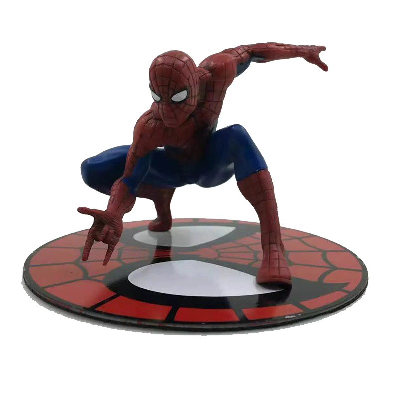 Marvel The Amazing Spider Man Magnetic Spiderman Action Figure Decoration Collection Model Dolls Toys Christmas Gift for Kids 24cm pvc deadpool action figure breaking the fourth wall scene dead pool kids birthday christmas model gift toys