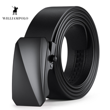 Williampolo 2019 100% Genuine Leather Belts Automatic Buckle Fashion For Men Business Popular Luxury PL18407-08P