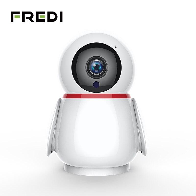 FREDI Home Security Auto Tracking Camera 1080P Wireless Wifi Surveillance CCTV Camera IR Night Vision Baby Monitor IP Camera