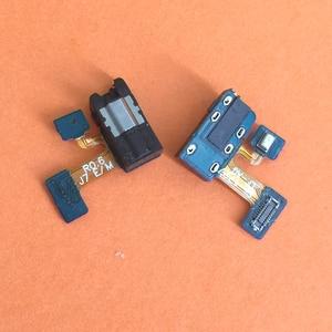 Image 1 - 50pcs For Samsung Galaxy J3 J5 J7 2017 J330 J530 J730 Earphone Jack Headphone Audio Microphone Flex Cable Audio jack flex