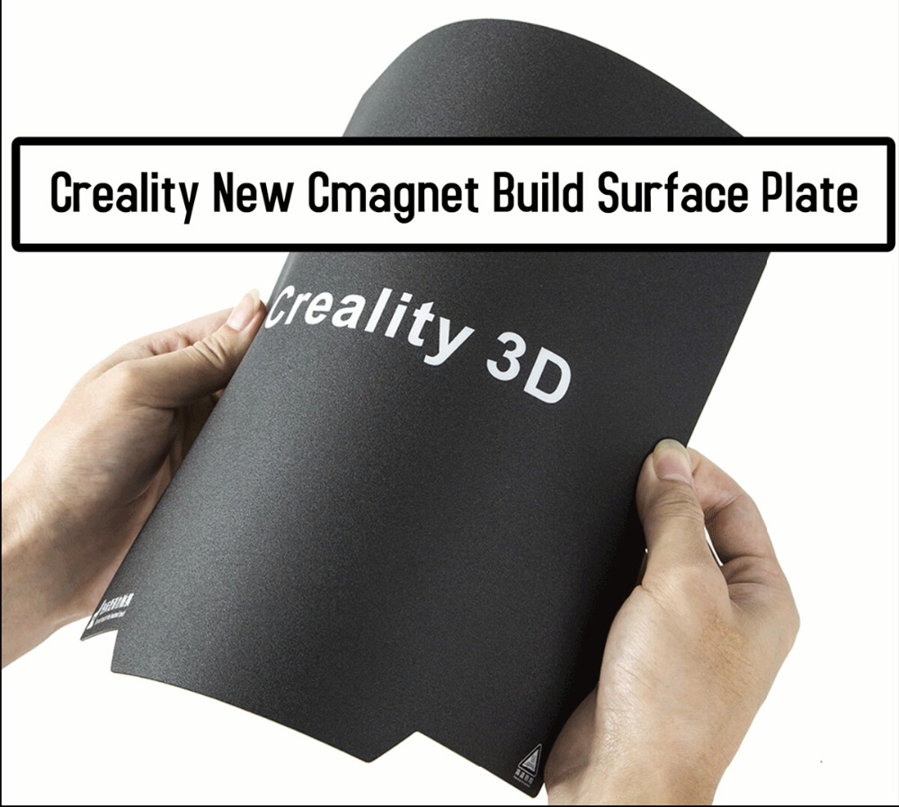 For Creality CR-10S Pro 3D printer Hot Bed Sticker Universal Magnetic Latest