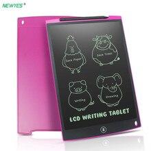 NeWYeS lcd планшет для письма 12 дюймов электронный цифровой электронный Графический чертеж доска планшет для рисования с стило для подарка для детей