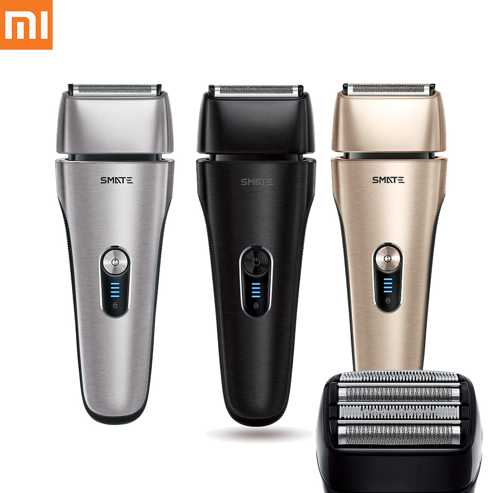 XIAOMI IPX7 Waterproof Fast Charging Smart Electric Shaver Floating Reciprocating Men Barber Tool Shaving Shaver Stainless Steel