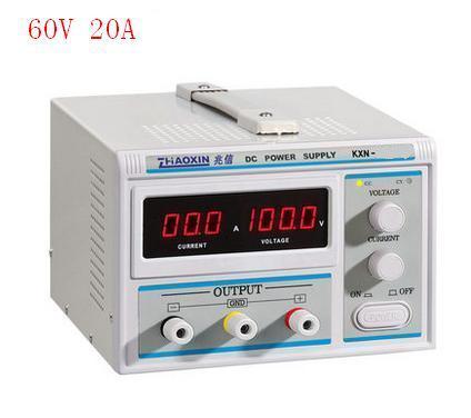DC alimentation régulée 60v20a haute puissance DC alimentation à découpage kxn-6020d galvanoplastie vieillissement