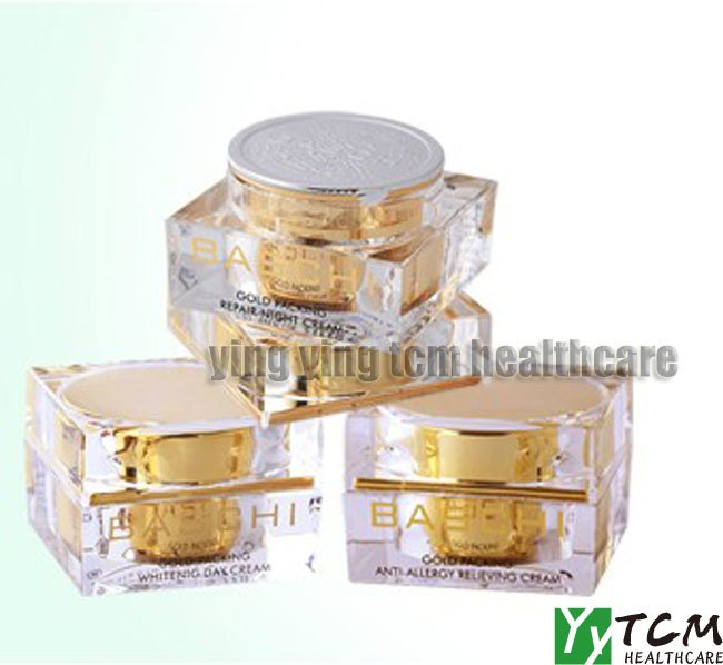 wholesale original~~ Baschi whitening cream day cream+night cream+anti allergy relieving cream fourth generation cream cream live