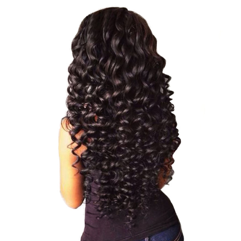 Malaysian Deep Wave Hair Weave Extensions 100% Human Hair Bundles Natural Hair Weaving Mornice Remy Hair Bundles Double Weft