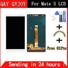 Q & Y qyjoy для Huawei Коврики S ЖК-дисплей Экран Дисплей с Сенсорный экран сенсорный Панель планшета с Рамка сборки Запчасти для авто
