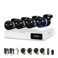 H View 4CH DVR CCTV System 720P HDMI AHD CCTV DVR 4PCS 2 0 MP IR