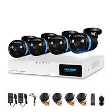 H. View 4ch CCTV камера системы безопасности комплект 4 1080 P CCTV камера системы безопасности комплект 1080 P товары теле и видеонаблюдения Комплекты наружные комплекты