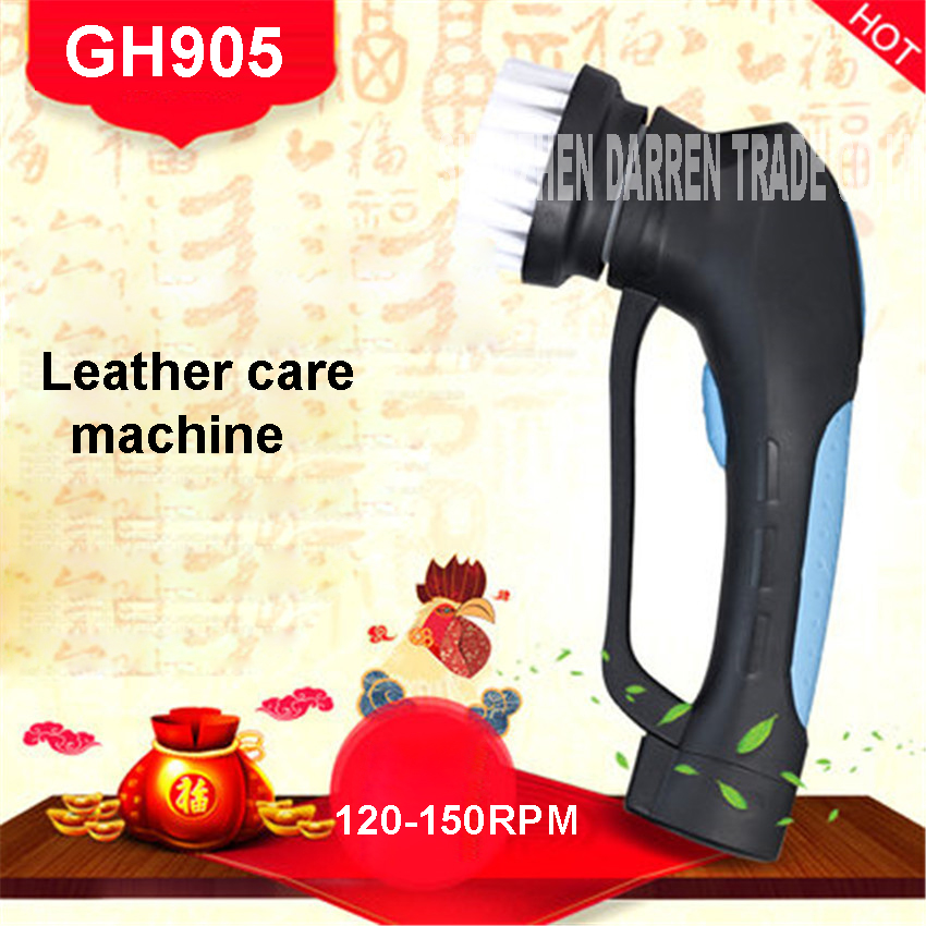 Automatic Household Electric Shoe Polisher Machine Leather Care Shoe Dryer GH905 leather care machine 3.6V 1.3AHBattery capacity