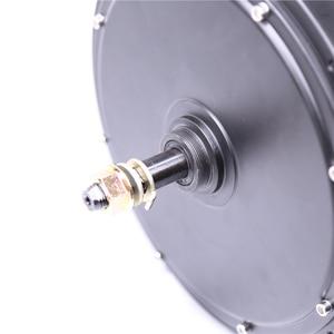 Image 4 - 11,11 2020 Бесплатная доставка 48V1000w мотор ступицы заднего колеса для комплекта электрического велосипеда Мотор колеса