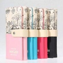 Fashion Brand Women Wallets PU Leather Card Holder Long Lady Wallet Purse Clutch Hasp Wallet Phone Pocket Purse Wallet Carteira