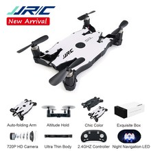 Jjr/C Brica H49 Sol Ultrathin Wifi FPV Selfie Drone 720P Auto Lipat ARM Ketinggian Terus RC quadcopter Vs H37 H47 E57(China)