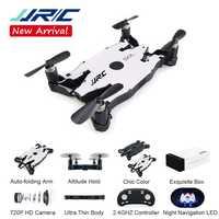 JJR/C JJRC H49 SOL ultracienki Wifi FPV dron do selfie 720P aparat Auto składany ramię wysokość trzymaj zdalnie sterowany quadcopter VS H37 H47 E57