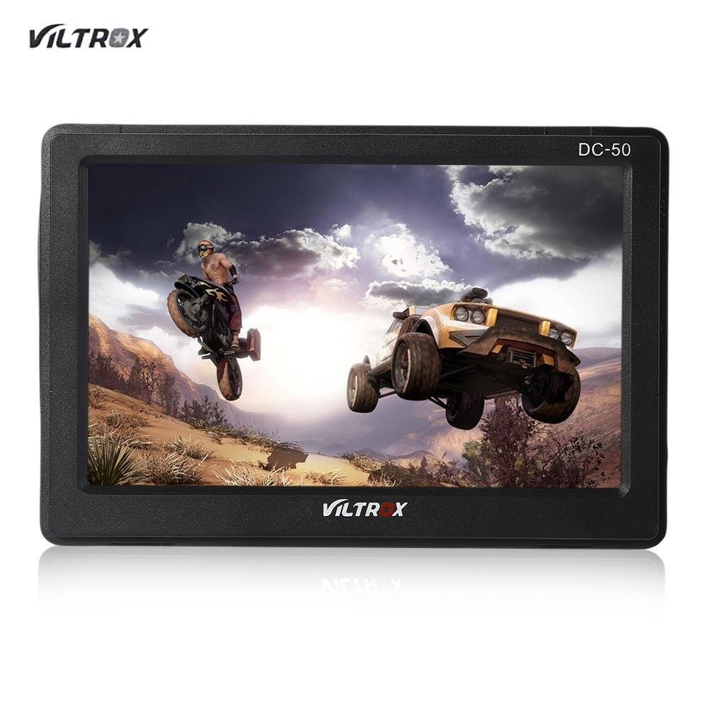 Viltrox DC 50 5 Inches Clip-on LCD Monitor HDMI for Camera Angle LCD Screen 800 x 480 Resolution multi Input Port