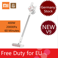 [Free Duty] 2019 Xiaomi Dreame V9 Vacuum Cleaner Wireless Handheld Cordless Stick Vacuum Cleaner 400W 20000Pa from xiaomi youpin