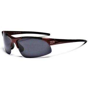 Image 2 - Daiwa Fishing Glasses Outdoor Sport Fishing Sunglasses Men Glasses Cycling Climbing Sun Glassess Polarized Glasses Fishing