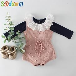 Baby-Kleidung-Fr-hling-Neue-Handgemachte-Haar-Ball-Baby-Infant-Gestrickte-Pullover-Spitze-Kragen-Roben-Baumwolle.jpg_640x640