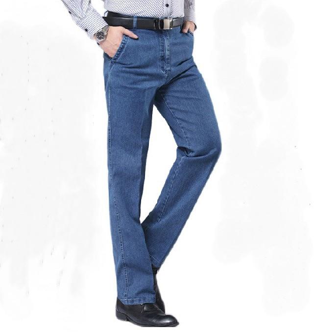 Bărbați Plus Marimea de primăvară drepte Jeans Masculin de vară - Imbracaminte barbati