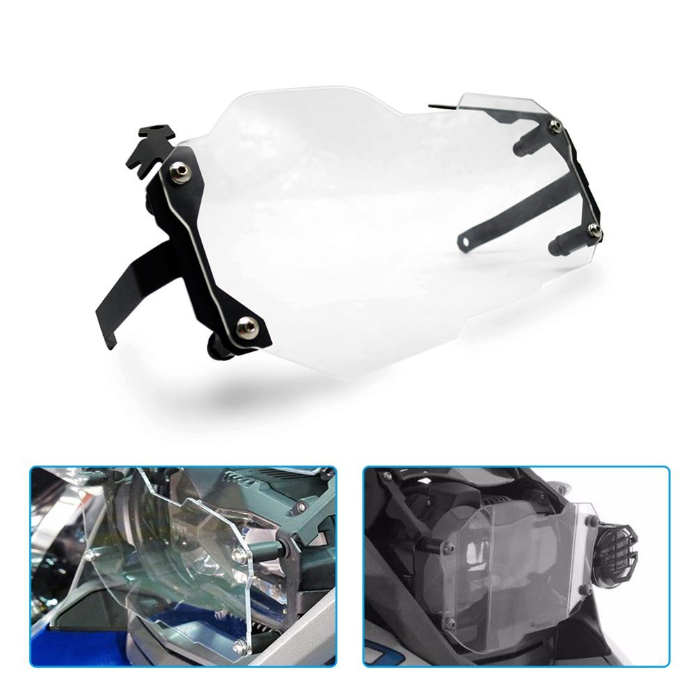 For BMW R1200GS Led Headlight Protector Guard Lense Cover for BMW R 1200 GS Adventure 2014 2015 2016 Water Cooled Models 2013-onFor BMW R1200GS Led Headlight Protector Guard Lense Cover for BMW R 1200 GS Adventure 2014 2015 2016 Water Cooled Models 2013-on