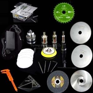Image 5 - Scie détabli, table de précision multifonctionnelle, Miniature, micro machine de découpe T6, Q10032